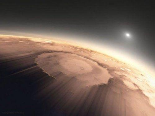 FOTO INCREDIBIL! Asa arata rasaritul pe cel mai MISTERIOS loc din Univers pentru om