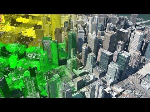 Zbor deasupra zgarie-norilor: Google Maps iti permite sa explorezi orasele lumii 3D