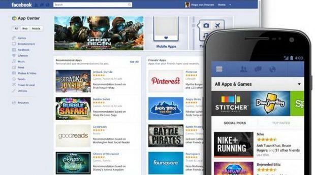 Facebook lanseaza App Center, propriul magazin online pentru aplicatii si jocuri