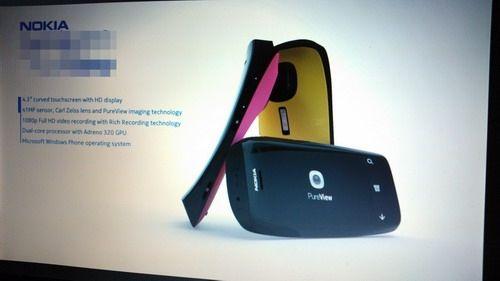 FOTO: Nokia Lumia PureView cu camera de 41 MP si Windows Phone 8