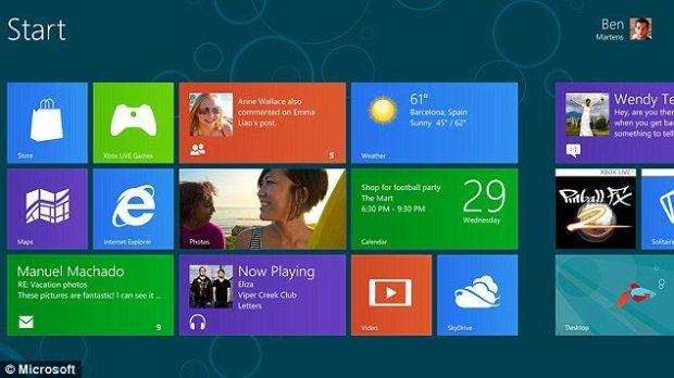 Windows 8 va fi lansat in octombrie. Preturi upgrade