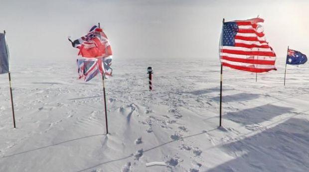 VIDEO Polul Sud la un click distanta. Calatoreste in Antarctica pe urmele exploratorilor de acum un secol