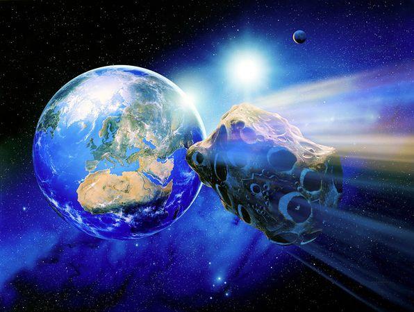 Un asteroid trece ASTAZI pe langa Pamant. Urmareste-l online