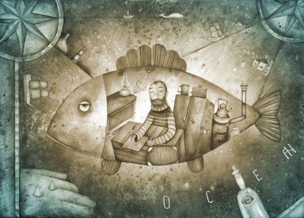 Inventiile lui Jules Verne, geniul care a ajutat un savant roman sa construiasca o racheta