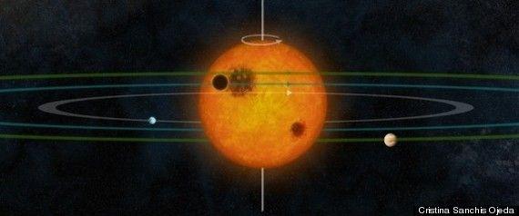 Descoperire fantastica facuta de NASA.  Copia  sistemului nostru solar a fost gasita