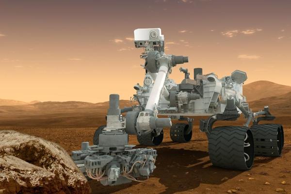 Roverul Curiosity al NASA a ajuns cu bine pe Marte