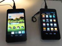 Allview P4 si P5 Alldro. Cum arata dual SIM-urile romanesti care concureaza cu Galaxy S II