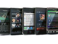 Smartphone-urile Android si iPhone-urile domina piata cu 85%