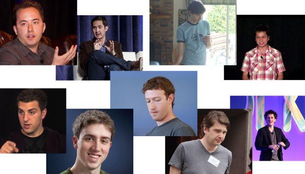 Uita-te atent la ei: 9 pusti geniali au pus mana pe toate miliardele din internet. Deciziile care i-au facut legende in .com
