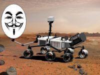 Hackerii de la Anonymous se pregatesc sa preia controlul Roverului Curiosity