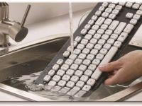 Logitech lanseaza tastatura lavabila, care se curata in chiuveta