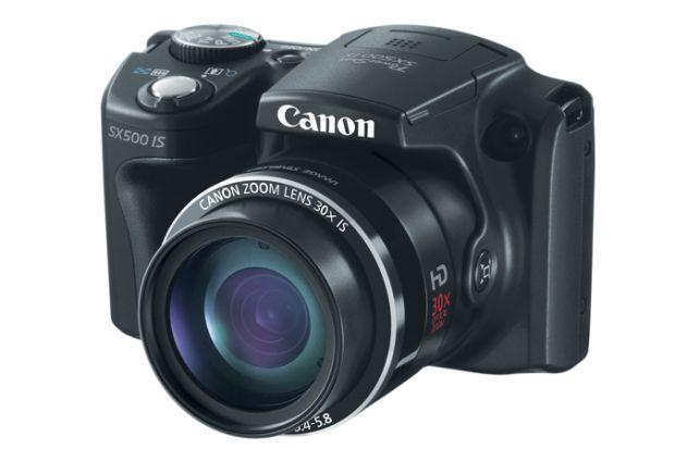 Canon PowerShot SX500, cea mai mica camera foto din lume cu zoom optic de 30x