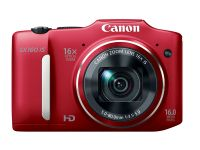 Canon PowerShot SX160, camera cu un zoom optic impresionant de 16x
