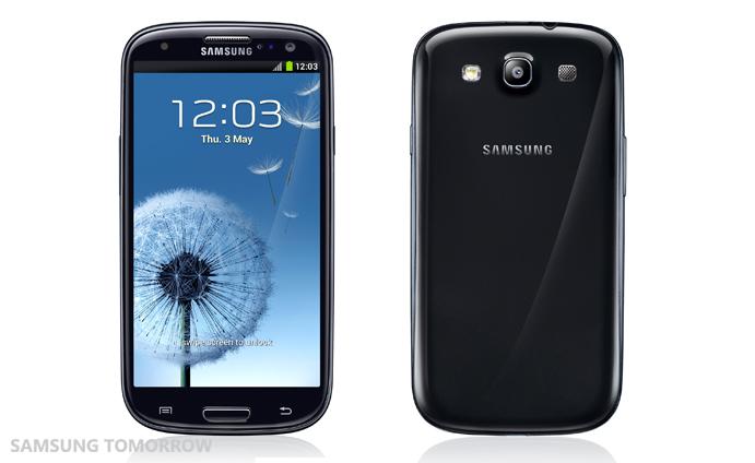 Samsung GALAXY S III negru