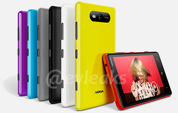 FOTO: Lumia 820, primul smartphone Nokia cu Windows Phone 8