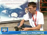 Cei mai inventivi copii din Romania s-au strans in tabara Tech School. Castigatorul va merge la NASA