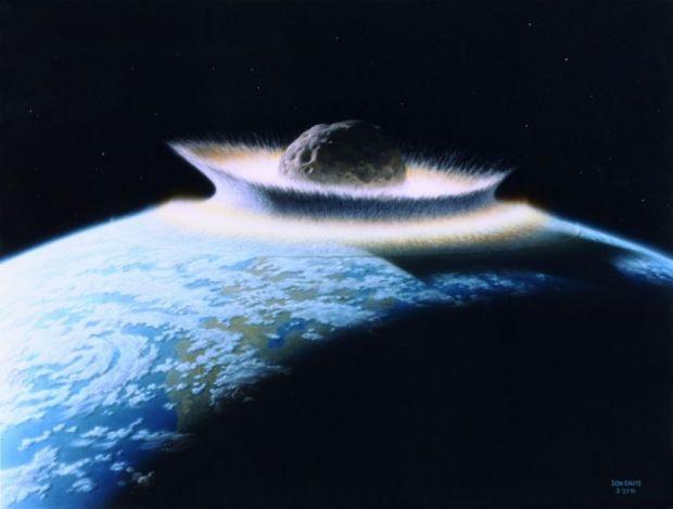 Un asteroid ar putea lovi Pamantul in apropierea Romaniei. Ar putea distruge viata