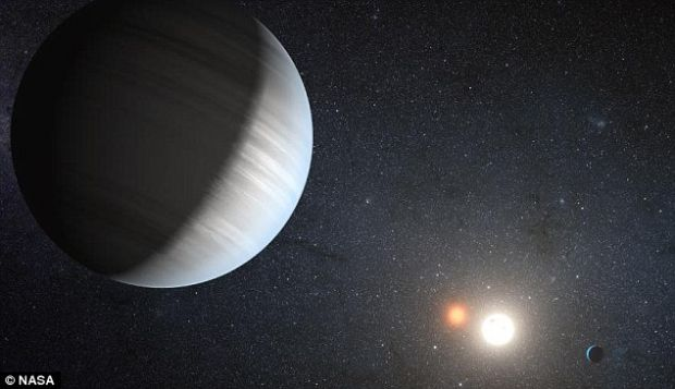 Descoperire fantastica facuta de NASA: un sistem solar cu doi sori si planete locuibile