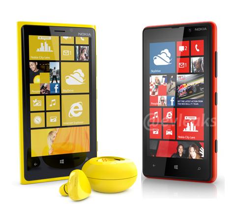 Nokia Lumia 920 & Nokia Lumia 820