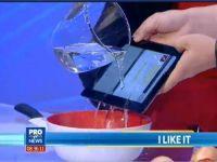Sony Xperia Tablet S la iLikeIT. Demonstratie de rezistenta, LIVE, cu MasterChef Florin Dumitrescu
