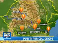Romania pe GPS: Hartile care te intorc in timp cu peste 20 de ani sau te trimit direct in zid