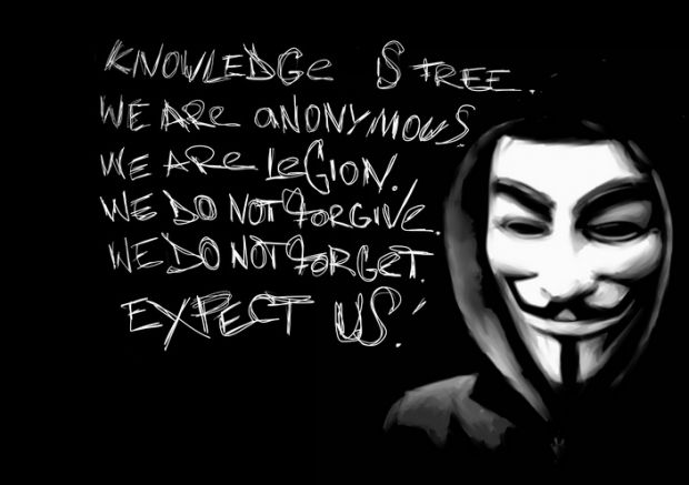Lovitura crunta data de Anonymous. Hackerii au pus la pamant sute de site-uri si au distrus conturi de mail