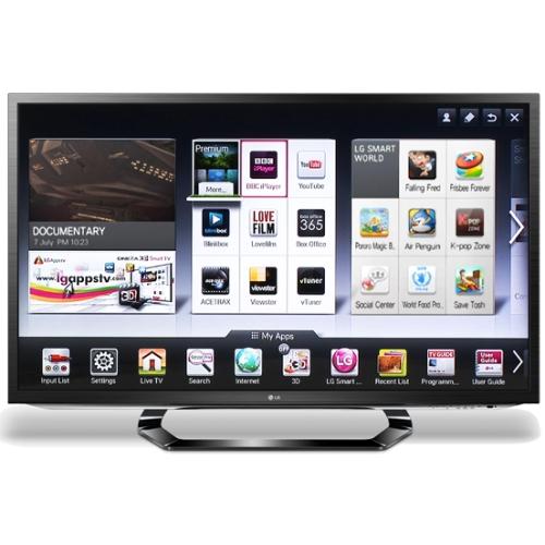 Smart TV LED 3D LG 42LM620S