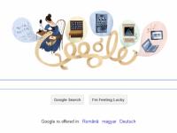 Google o sarbatoreste azi pe Ada Lovelace, considerata primul programator din lume