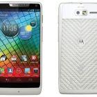 White Motorola RAZR i