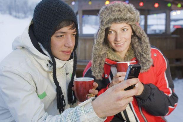 Planifica-ti vacanta perfecta de iarna cu ajutorul smartphone-ului