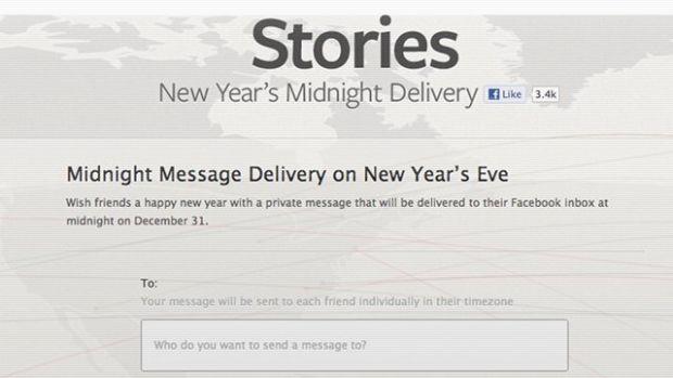 Mesaje de Anul Nou. Aplicatia lansata in premiera de Facebook inainte de Revelion 2013