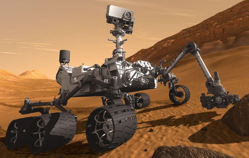 Curiosity face o noua decoperire pe Marte. Ce fotografie controversata a surprins robotul