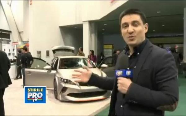 Masini spectaculoase la CES 2013: Shelby-ul din NFS si coupe-ul anti-zombie