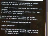 Cea mai ciudata eroare de pe un Windows Phone:  Introduceti CD-ul si restartati calculatorul
