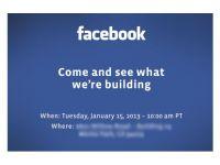 Conferinta de presa misterioasa de la Facebook LIVE TEXT
