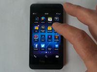 BlackBerry Z10, smartphone-ul touch ce va fi lansat pe 30 ianuarie. VIDEO