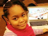O fetita de 7 ani, cel mai tanar creator al unui joc pentru mobil