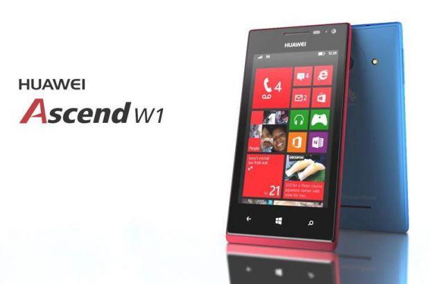 Huawei Ascend W1, un smartphone ieftin cu Windows Phone 8. Pret si specificatii tehnice