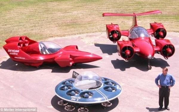 Masina zburatoare a devenit realitate. Pretul nu e pentru soferul de rand