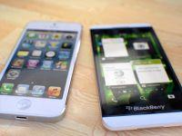 Noul BlackBerry Z10 bate lejer iPhone 5 la aspect si la specificatii