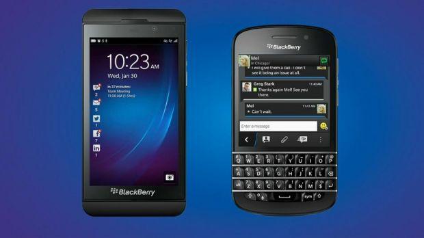 BlackBerry Z10 si BlackBerry Q10 au fost lansate oficial