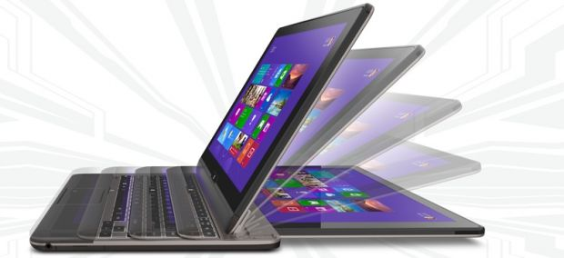 Toshiba Satellite U920t vine in Romania. Ultrabook si tableta 2 in 1