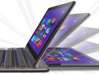 Toshiba Satellite U920t vine in Romania. Ultrabook si tableta 2 in 1