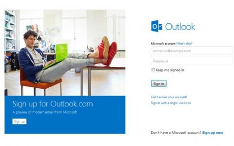Microsoft declara razboi serviciului Gmail prin noul Outlook.com