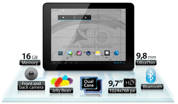 Allview AllDro 3 Speed Duo HD, o noua tableta ieftina lansata de brasoveni