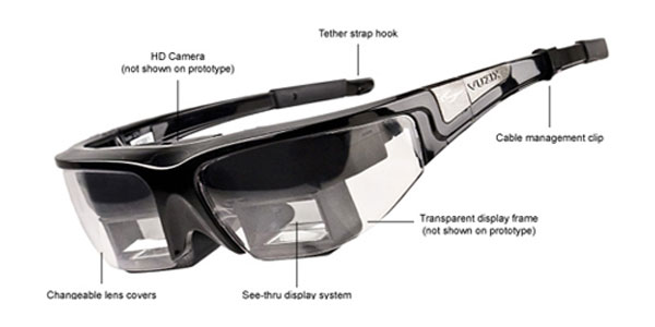 Pana la Google Glasses, ne jucam cu alti ochelari destepti. VIDEO MWC 2013