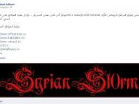 Un hacker din Siria anunta pe Facebook ca a atacat 60 de site-uri din Romania