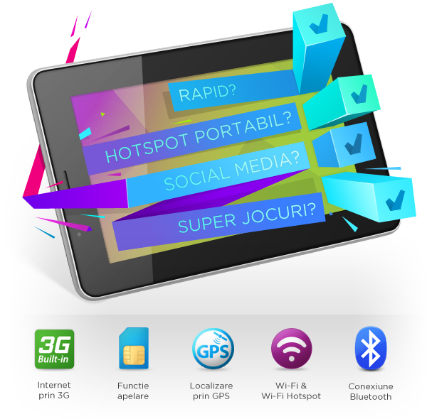 Allview AX2 Frenzy, o tableta ieftina cu procesor dual-core si 3G