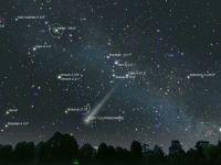 Spectacol pe cer de 8 martie: O cometa va putea fi vazuta pe cer, in emisfera nordica