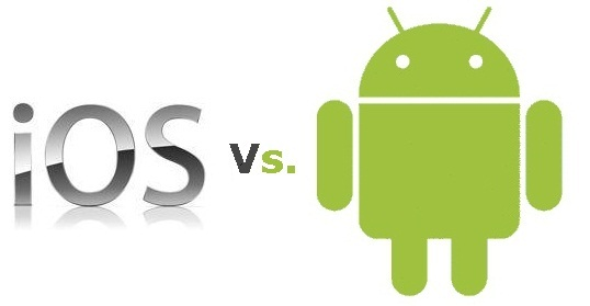 Americanii au preferat iPhone-urile in locul telefoanelor cu Android, la finalul anului trecut
